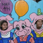 4-H Keiki enjoying the fair. Photo courtesy of Upcountry Fair Maui.