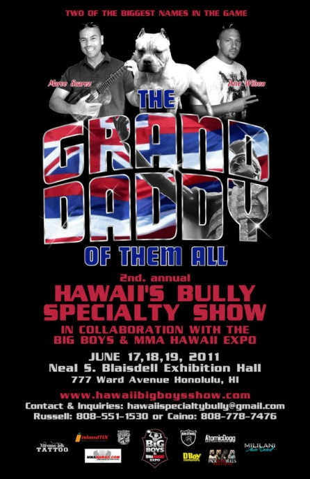 Bully Dogs at MMA HI Expo