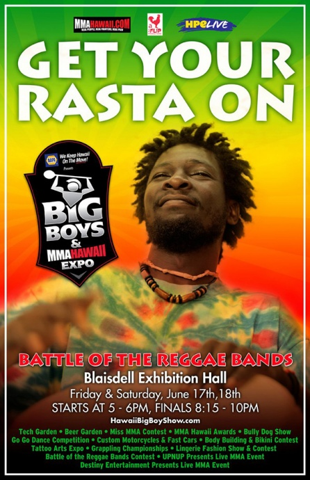 Reggae Show MMA Expo