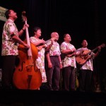 Last year's winner was the musical group Hoopii. Photo courtesy of Hawaii Pacific Entertainment.