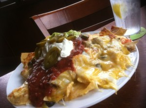 Nachos at Ocean's