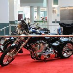 Some of the Bikes at the Big Boys Toys and MMA Hawaii Expo. Photo by Laurie K