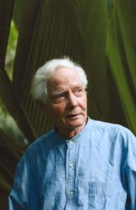 W.S. Merwin, photo courtesy PBS Hawaii.