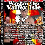 War on the Valley Isle Event Poster