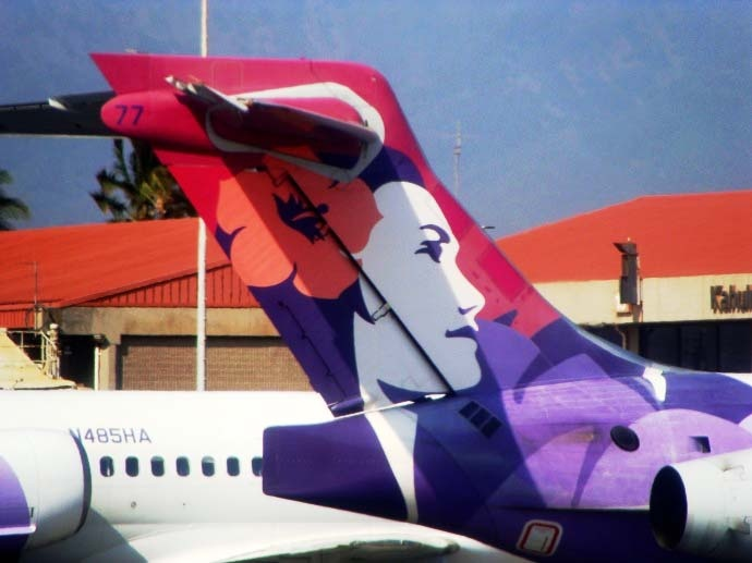 Hawaiian Airlines, photo by Wendy Osher.