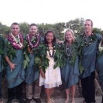 The Ka Ipu Kukui Fellows class of 2011 with Executive Director Lori Teragawachi