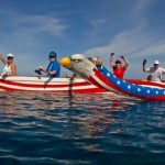 Paddle For Food with the Maui Canoe Club