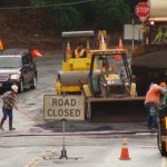 Maui road paving. File photo by Wendy Osher.