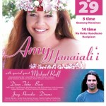 Amy Hanaiali'i to Perform at Stella Blues