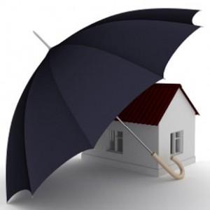Home under umbrella