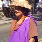 Aunty Patty Nishiyama of Na Kupuna O Maui ia among the key supporters of the bill. File photo by Wendy Osher.