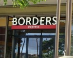 Borders Express at the Queen Kaahumanu Shopping Center in Kahului. Photo by Wendy Osher.