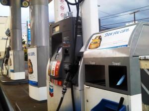 Wailuku gasoline, file photo by Wendy Osher.