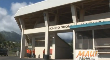 Iron Maehara Stadium on Maui. File photo by Wendy Osher.