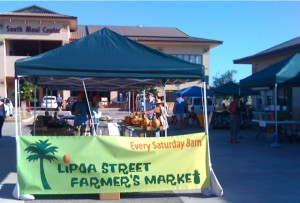 Lipoa Street Farmer's Market in Kihei.  Courtesy photo.