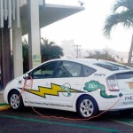MECO electric car, photo by Wendy Osher.