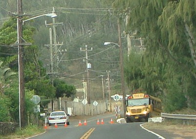 Maui Electric Emergency Repairs at ʻĪao Valley Road This Evening