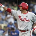 Credit Ailing Victorino for Showing Up in Phoenix