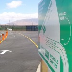Kihei Recycling Center, file photo by Wendy Osher.