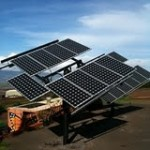 Hnu-Energy off-grid solar power installation. Photo courtesy of Hnu-Energy.