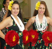Maui now hawaiian language greeting launched at molokai airport along with hula dancers visitors and residents will now be greeted in the hawaiian language photo courtesy of hawaii dept of transportation m4hsunfo