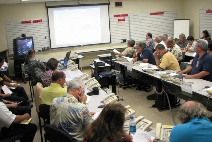 Emergency Operating Center on Maui. File photo. Courtesy County of Maui.