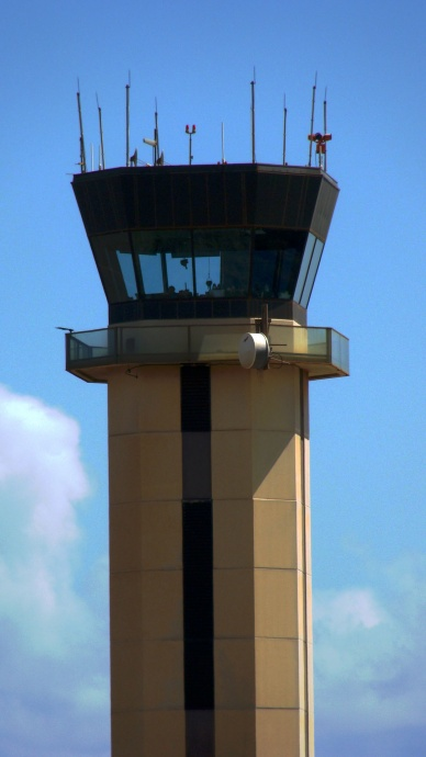 Kahului Airport, controll tower. Photo by Wendy Osher.