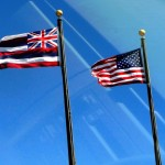 Hawaii flag. File photo by  Wendy Osher.