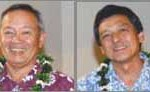 Wayne, Paul, Guy, and Lynn, 3rd generation owners, at Maui Varieties Ltd. (Photo courtesy of Maui Varieties Ltd.)
