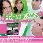 The Throwdowns CD Release Party This Saturday