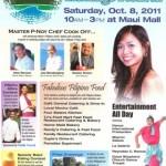 Filipino-American Heritage Festival at Maui Mall