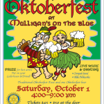 Oktoberfest at Mulligan's on the Blue