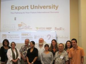 export university, hawaii pacific export council