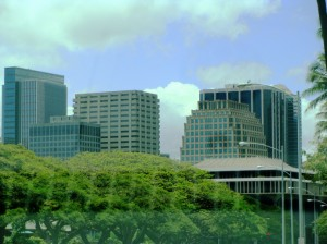 Honolulu skyline. Photo by Wendy Osher.