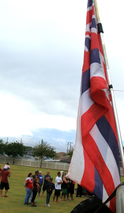 Hawaiian flag. File photo by Wendy Osher.