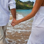 State of Hawaii will continue to permit beach weddings. File photo.