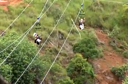 Zipline file photo.