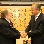 Governor Abercrombie's trip to Japan, Okinawa, and China included a visit with the China National Tourism Administration. Photo Courtesy, State of Hawai'i, Office of the Governor.