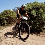 Lance Armstrong, pictured here during a practice run on Saturday. Photo courtesy, XTERRA.