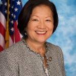 Former lieutenant governer-turned-US Congresswoman-turned-Senate candidate Mazie Hirono.