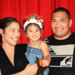 Winner, Kelsey Quinabo with Parents Ramona Fernandez and Kanoa Quinabo