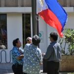 Philippine Flag Raising Ceremony. Courtesy photo.