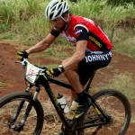 Lance Armstrong takes a preview spin on the XTERRA World Championship course at Kapalua on Wednesday in preparation for Sunday's race.  Photo courtesy XTERRA.
