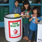 Maui Food Bank drop-off bin. Photo courtesy Maui Food Bank.