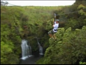zipline skyline ecotour waterfall zip line