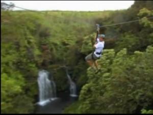 zipline skyline ecotour waterfall zip line