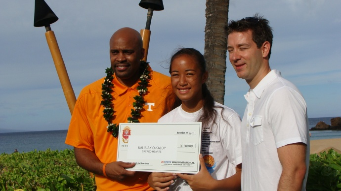 2011 EA SPORTS Maui Invitational Freethrow contest. File photo by Wendy Osher.