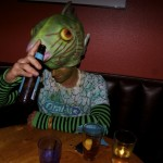 "Hence the expression ""he drinks like a fish."" Photo by Madeline Ziecker."