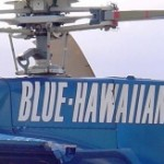 Blue Hawaiian helicopter, file photo by Wendy Osher.  This image is a file photo, and was not taken from the crash.