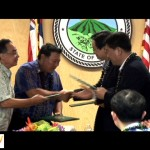 Photo by Wendy Osher.  Seo-gu / Maui sister city signing ceremony.